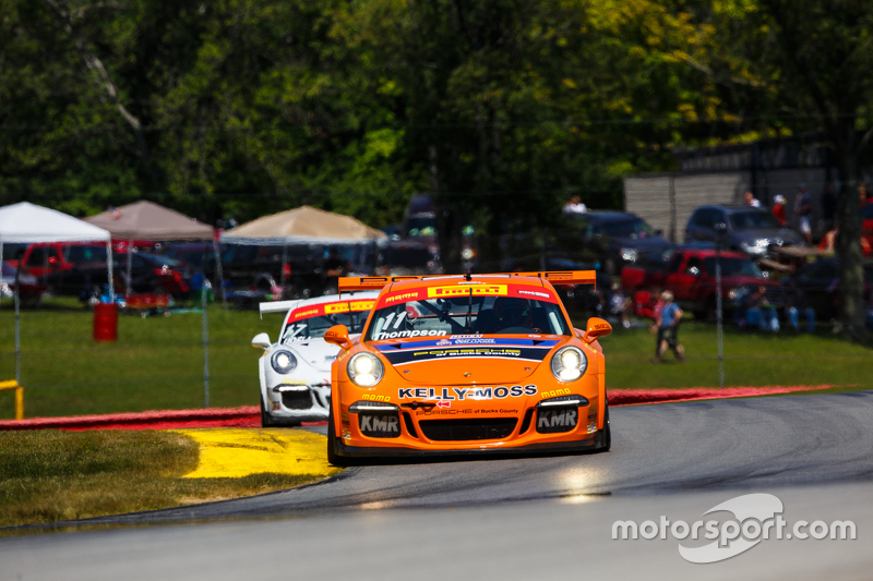 11 Kelly Moss Motorsports Porsche 911 Gt3 Cup Colin Thompson