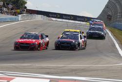 Kurt Busch, Stewart-Haas Racing Chevrolet and Austin Dillon, Richard Childress Racing Chevrolet