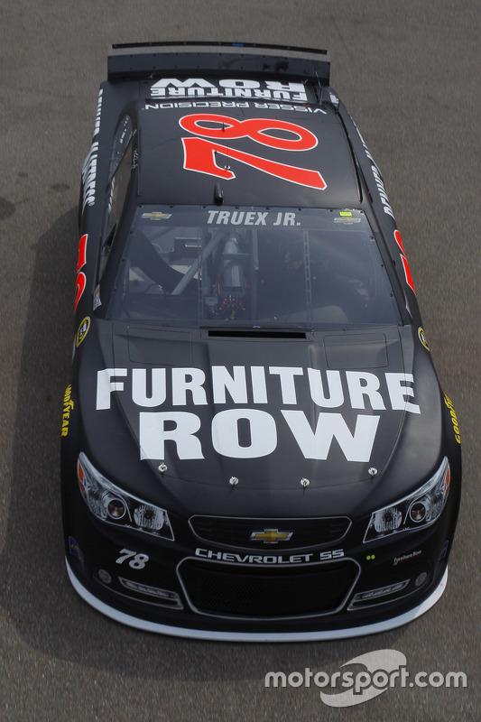 Martin Truex Jr Furniture Row Racing Chevrolet At Michigan Ii