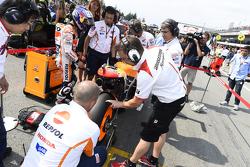 Starting grid: Dani Pedrosa, Repsol Honda Team