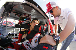 Ryan Reed, Roush Fenway Racing Ford and Ricky Stenhouse Jr.