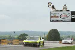 Paul Menard, Richard Childress Racing Chevrolet takes the win