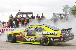 Race winner Paul Menard, Richard Childress Racing Chevrolet
