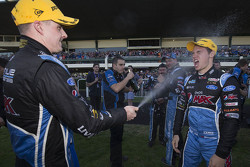 Mark Winterbottom, Prodrive Racing Australia Ford celebrates his victory