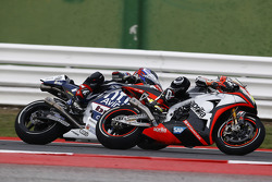 Alvaro Bautista, Aprilia Racing Team Gresini and Hector Barbera, Avintia Racing