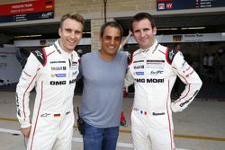 Timo Bernhard, Romain Dumas, Porsche Team with Juan Pablo Montoya