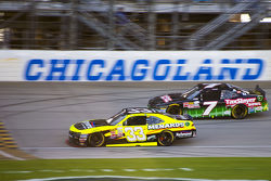Paul Menard, Richard Childress Racing Chevrolet and Regan Smith, JR Motorsports Chevrolet