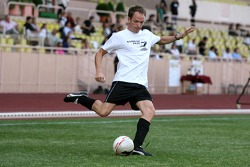 Star Team for Children VS National Team Drivers, Charity Football Match, Louis II StadiumAlbert II: Robert Doornbos, Test Driver, Red Bull Racing