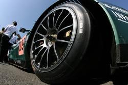Detail of the Aston Martin Racing Aston Martin DBR9