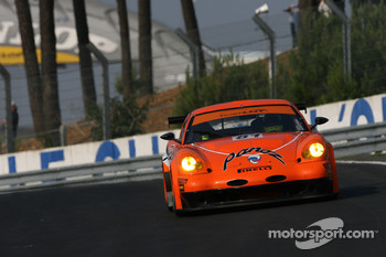 #81 Team LNT Panoz Esperante: Tom Kimber-Smith, Danny Watts, Tom Milner