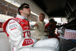Mike Rockenfeller and Alexandre Premat