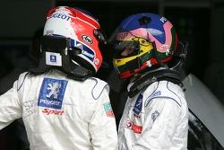 Nicolas Minassian and Jacques Villeneuve
