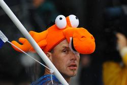 A Dutch fan