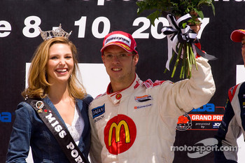 Sébastien Bourdais and Miss Portland