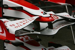 Super Aguri F1 Team, SA07, front wing detail