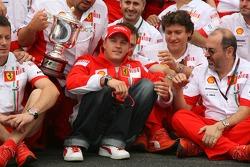 Kimi Raikkonen Ferrari celebration