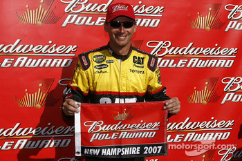 Dave Blaney gives Toyota its first pole position in The Nextel Cup Series
