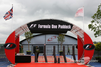 The Paddock entrance