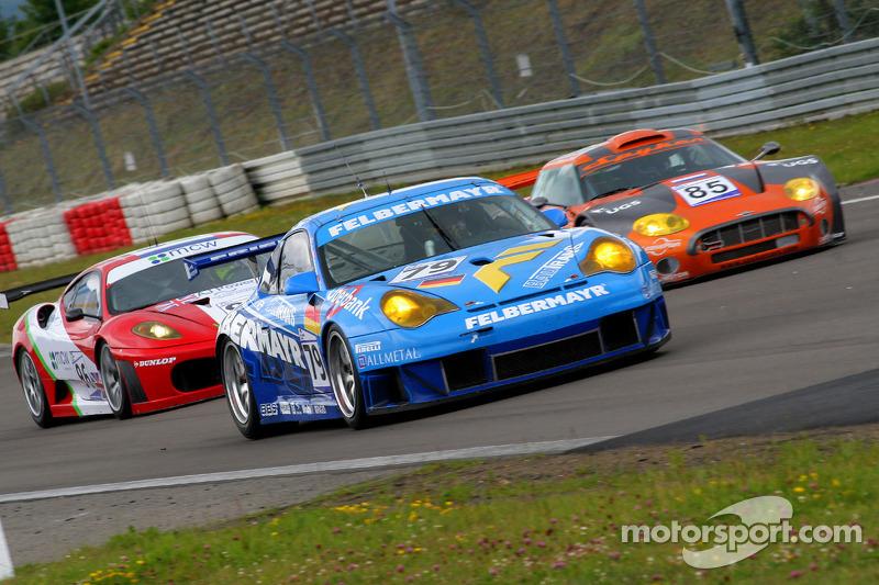#79 Team Felbermayr-Proton Porsche 996 GT3 RSR: Horst Felbermayr Sr., Gerold Ried, Philip Collin