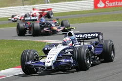 Alexander Wurz, Williams F1 Team, FW29 and Vitantonio Liuzzi, Scuderia Toro Rosso, STR02