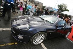 Supercars parade: an Aston Martin Vanquish