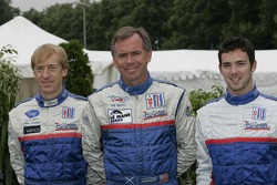 Allen Timpany, William Binnie and Chris Buncombe