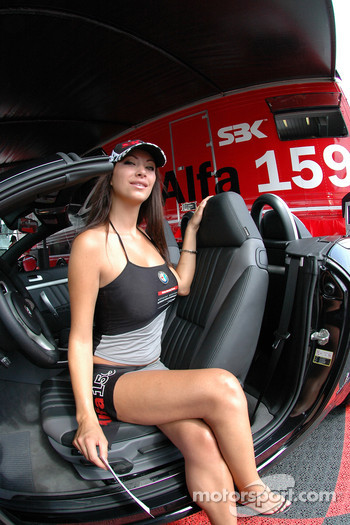 The Spectacular Alfa girl