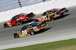 Juan Pablo Montoya, David Reutimann and Johnny Sauter