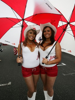 Jim Beam Racing Girls