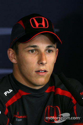 FIA press conference: Christian Klien, Test driver, Honda Racing F1 Team