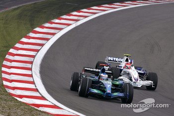 Jenson Button, Honda Racing F1 Team, Robert Kubica,  BMW Sauber F1 Team