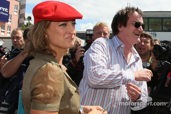 Quentin Tarantino, American Film Director, Zoe Bell Actress in