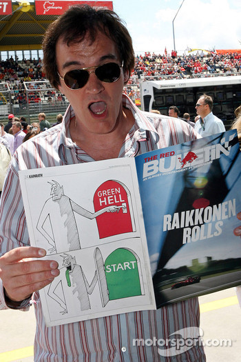 Quentin Tarantino, American Film Director with The Red Bulletin