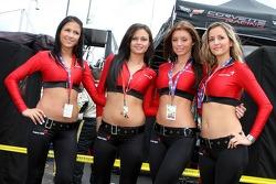 The charming Kumho Tires girls
