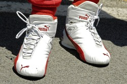 The pedal dancing shoes of Dan Weldon