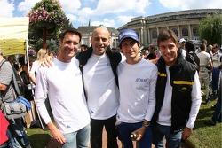 Marcello Zani, Emanuele Busnelli, Xavier Pompidou, Andrea Ceccato