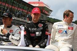 Christophe Bouchut, Stefan Mücke and Frank Stippler