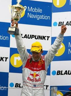 Podium: Mattias Ekström, Audi Sport Team Abt Sportsline