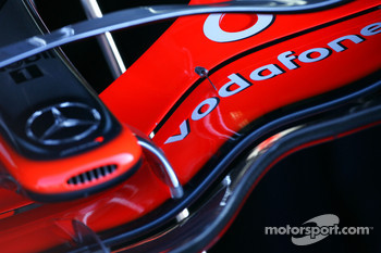 Detail of McLaren Mercedes