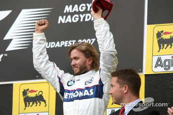 Podium: third place Nick Heidfeld