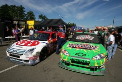 AAA Ford and Interstate Batteries Chevy at tech inspection