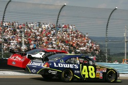 Jimmie Johnson and Robby Gordon