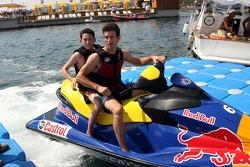 Mark Webber, Red Bull Racing at the Red Bull Aqua Battle