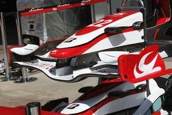 Super Aguri F1, SA07, front wing