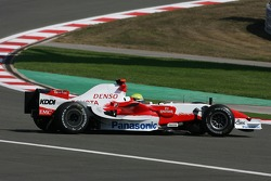 Ralf Schumacher, Toyota Racing, TF107 spins