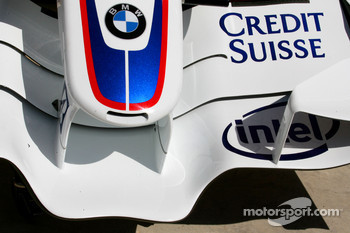 BMW Sauber F1 Team, F1.07, Front wing