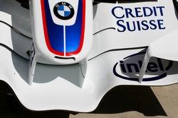 BMW Sauber F1 Team, F1.07, Front wing