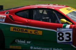 Les Combes: #83 GPC SPORT Ferrari F430 GT: Gabrio Rosa, Luca Drudi, Johnny Mowlem