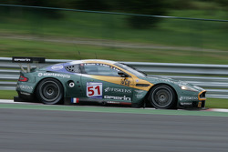 Pouhon: #51 Amr Larbre Competition Aston Martin DBR9: Gregor Fisken, Steve Zacchia, Gregory Franchi