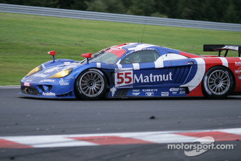 Bus stop: #55 Team Oreca Saleen S7-R: Stphane Ortelli, Soheil Ayari